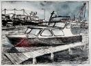 Boot, koloriert
